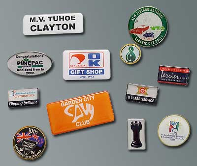 The Badge Team - Lapel Badge, Club Badge examples